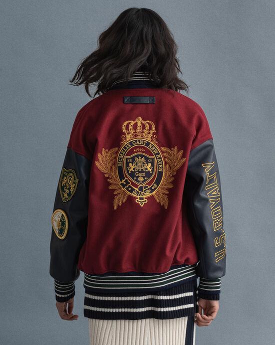 US Royalty GANT Varsity Jacket