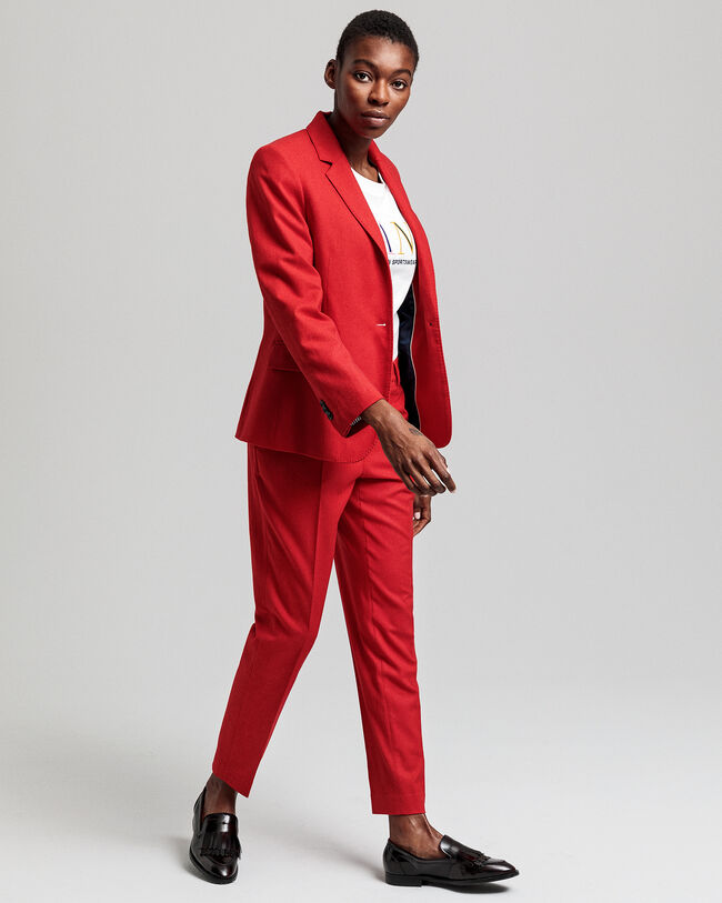 Regular Fit Flanellblazer