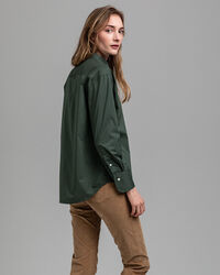 Tech Prep™ Relaxed Broadcloth Bluse