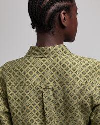 Iconic G Print Hemdblusenkleid