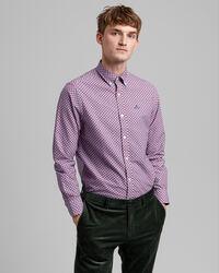 Regular Fit Hemd mit geometrischem Print