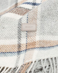 Decke mit Karomuster