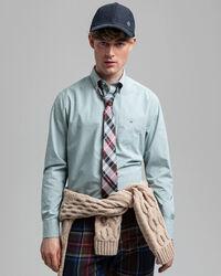 Regular Fit Banker Broadcloth Hemd