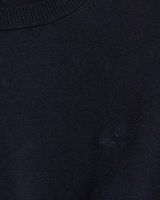 Leichter Rundhalspullover aus Baumwolle