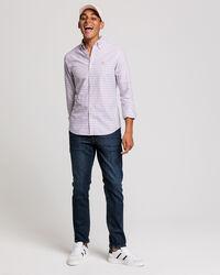 Kariertes Slim Oxford Hemd