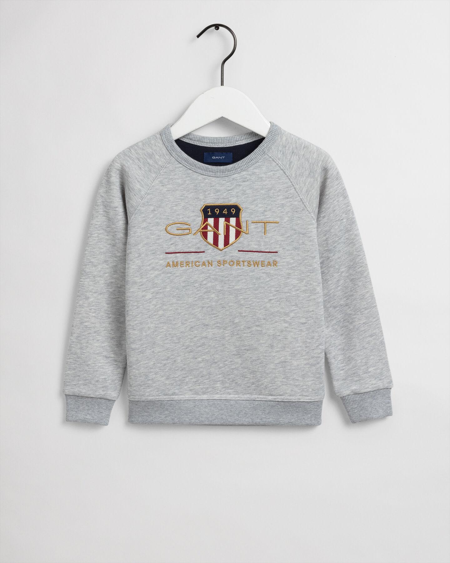 Kids Archive Shield Rundhals-Sweatshirt