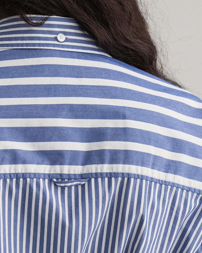Tech Prep™ Broadcloth Bluse mit Streifen-Mix