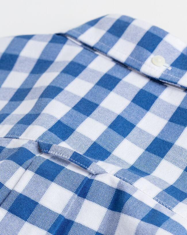 Ocean Prep™ Regular Fit Oxford-Hemd mit Karomuster