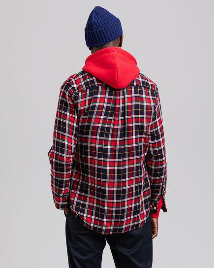 Regular Fit Hemd aus doppellagigem Flanell