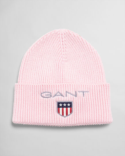 Teens Medium Shield Gerippte Beanie