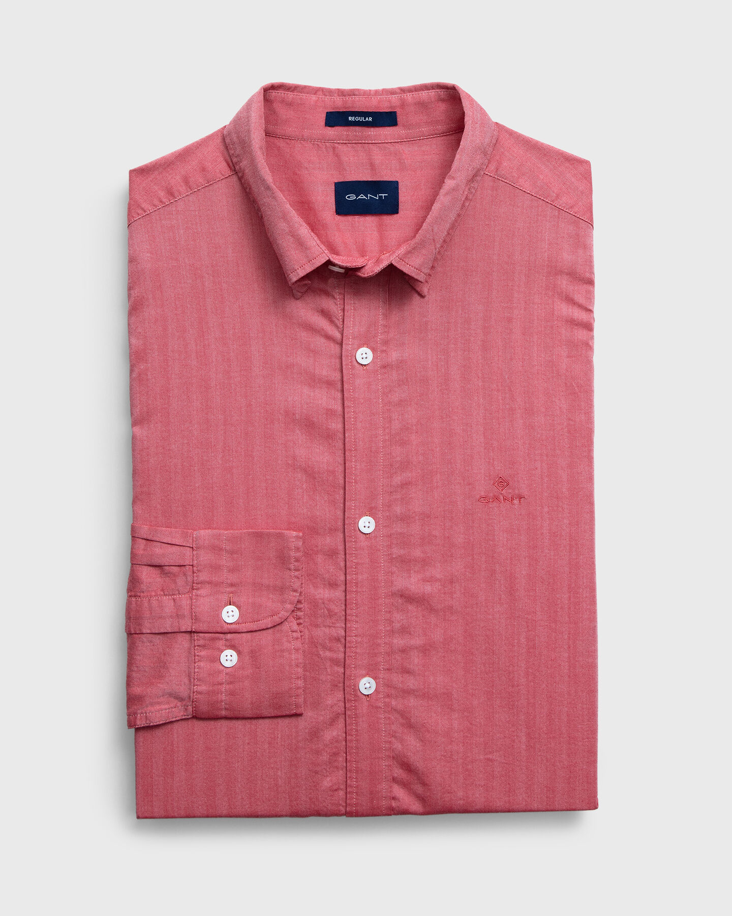 Regular Herringbone Hemd