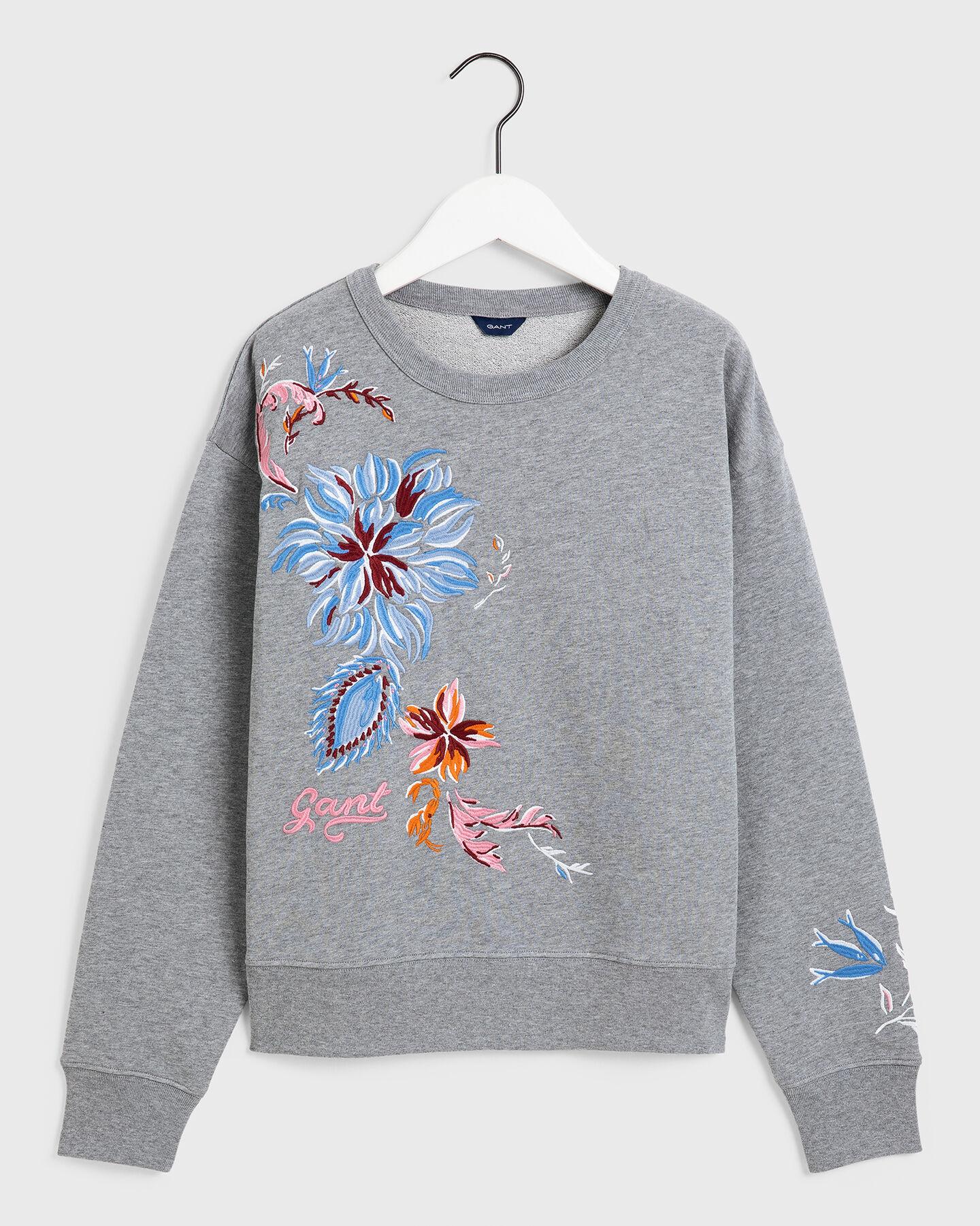 Marine Paisley Sweatshirt