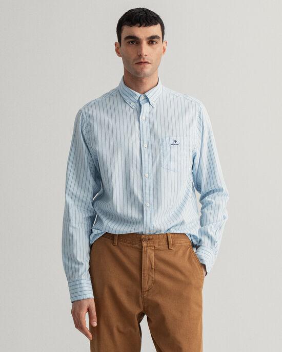Regular Fit Oxford-Hemd mit Streifen