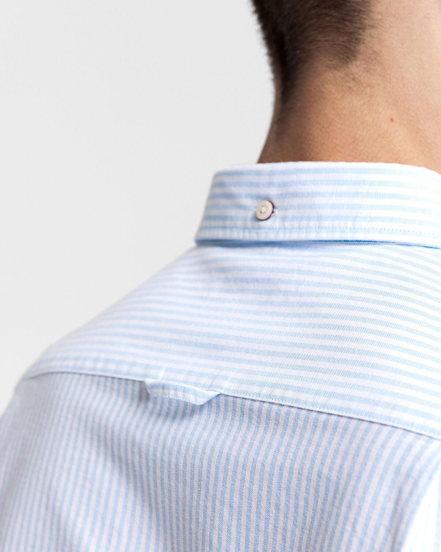 Slim Fit Oxford-Hemd mit Banker-Streifen
