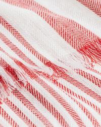 Gestreifter Leinen Baumwoll Schal