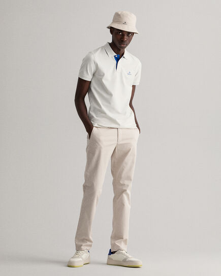 Slim Fit Twill Chinohose