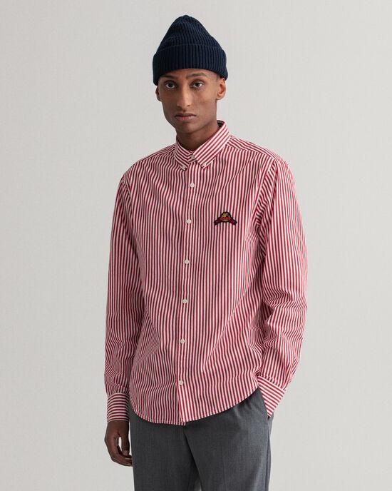 Regular Fit Bengal Hemd mit Streifen