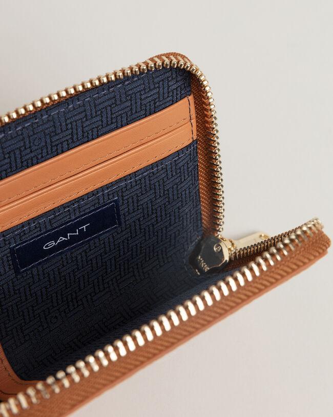 Iconic G Mini Geldbörse mit Blindprägung