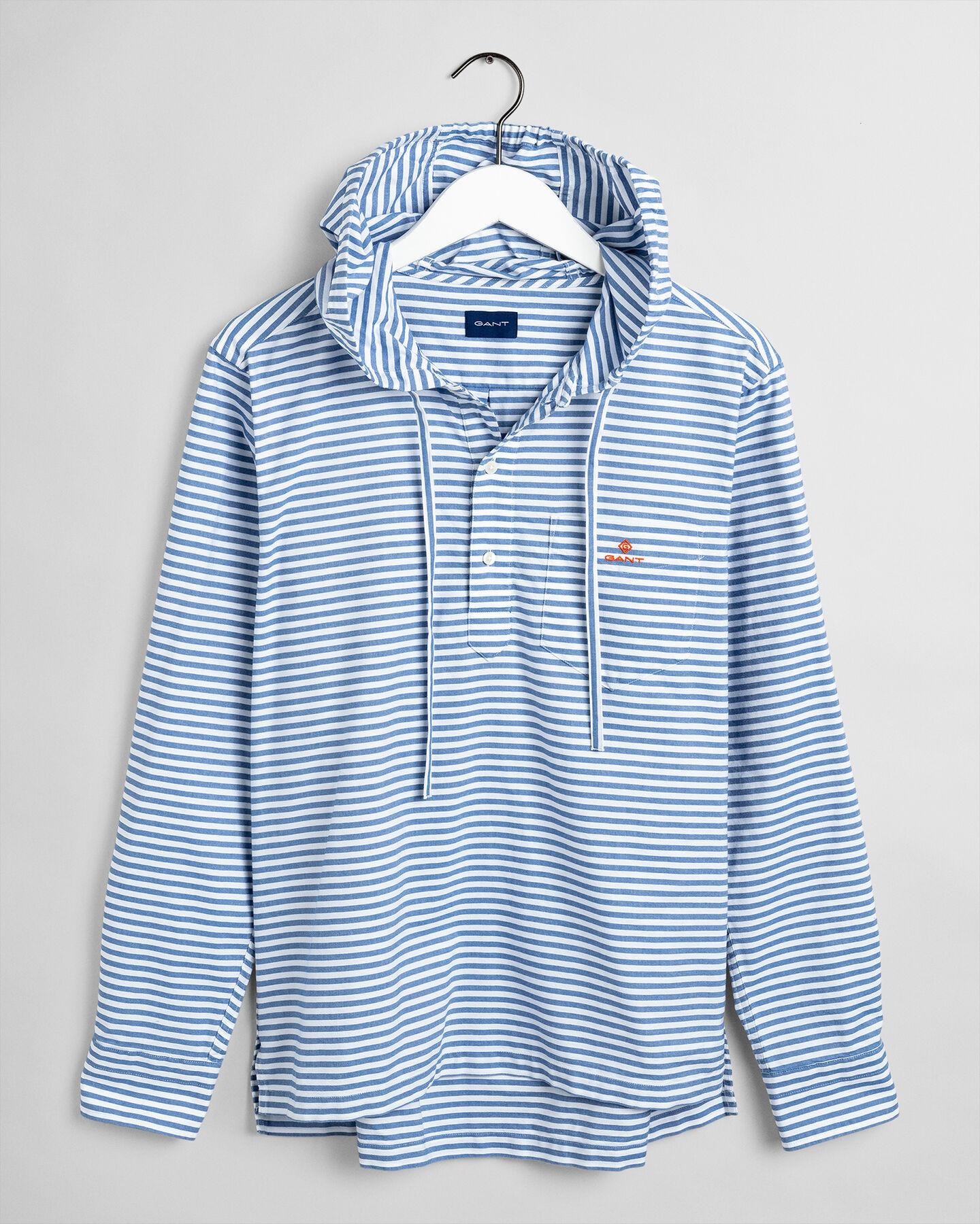 Ocean Prep™ Oxford-Schlupfhemd mit Streifen