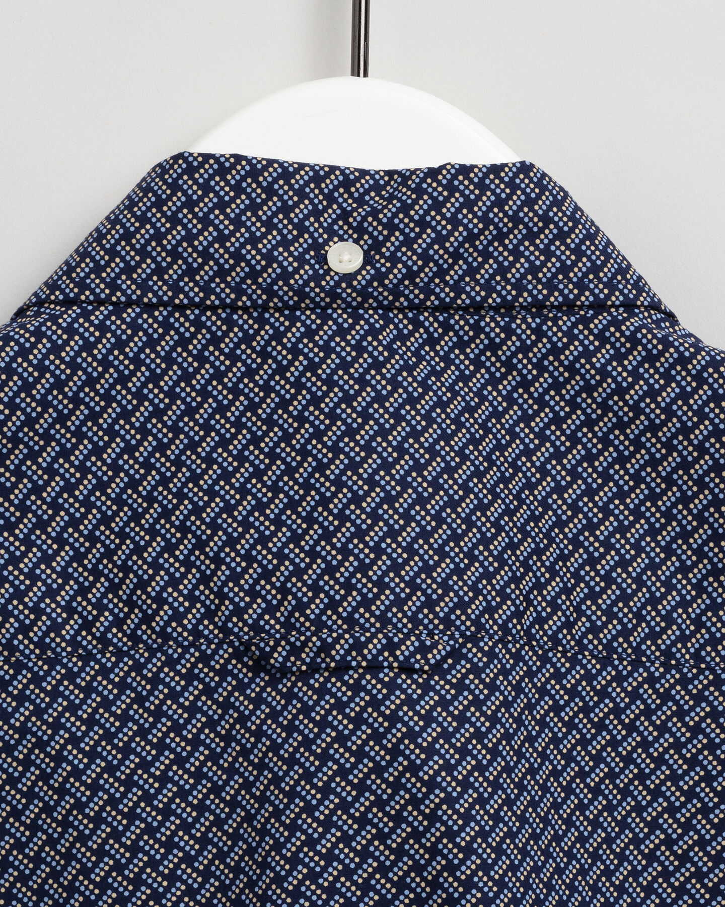 Slim Fit Hemd mit Pünktchen-Weave-Print