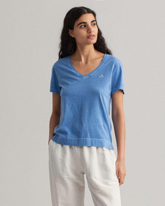 Sunfaded V-Neck T-Shirt