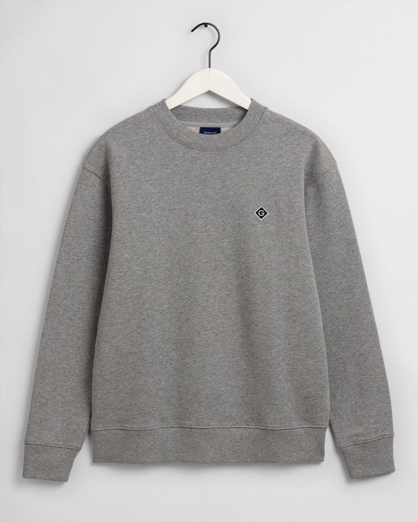 Diamond G Rundhals-Sweatshirt