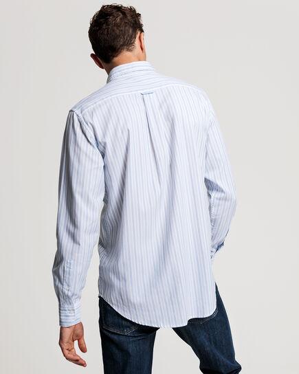Tech Prep™ Regular Fit Oxford-Hemd mit Streifen