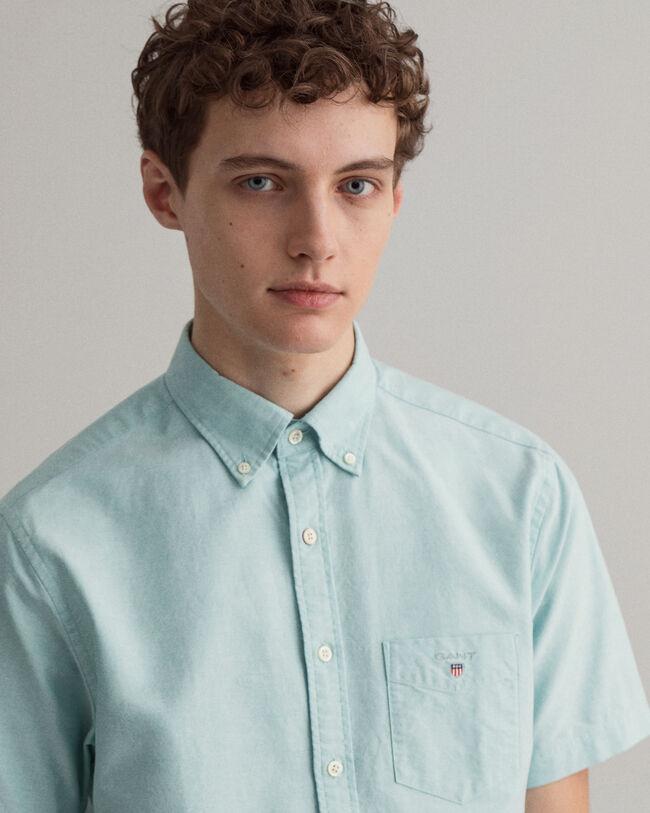 Regular Fit Kurzarm Oxford-Hemd