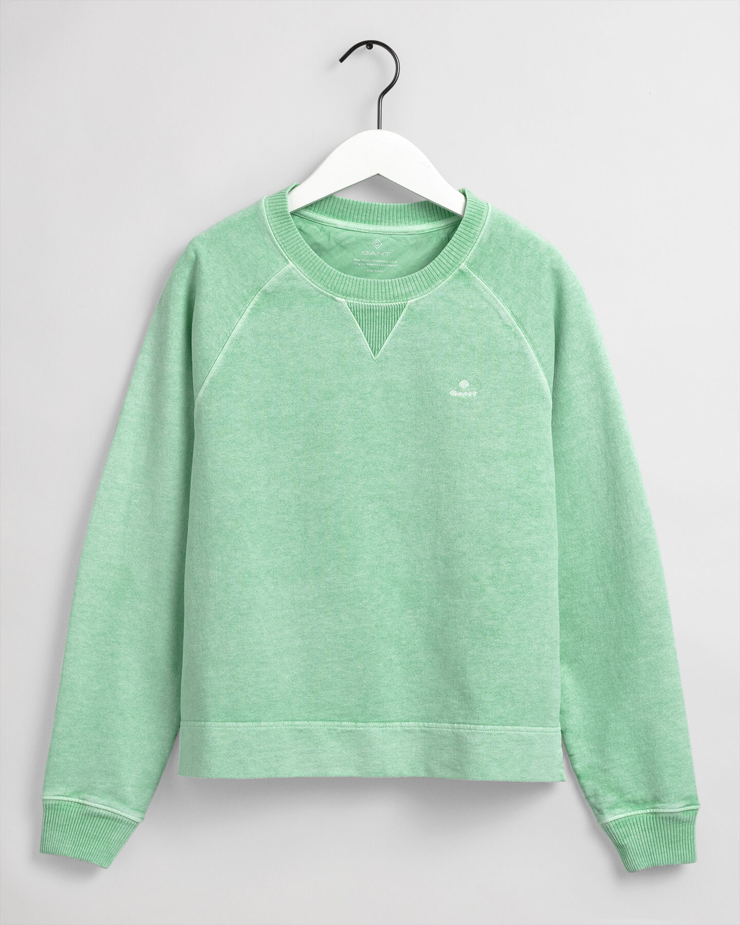 Sunfaded Rundhals-Sweatshirt