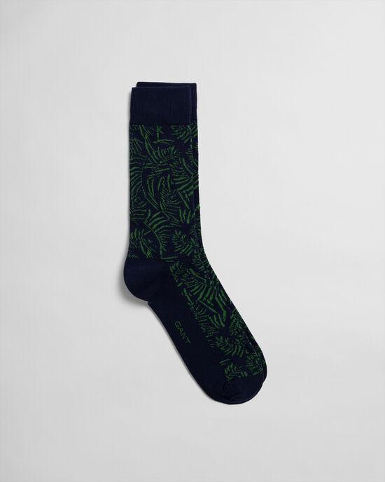 Socken mit tropischem Print