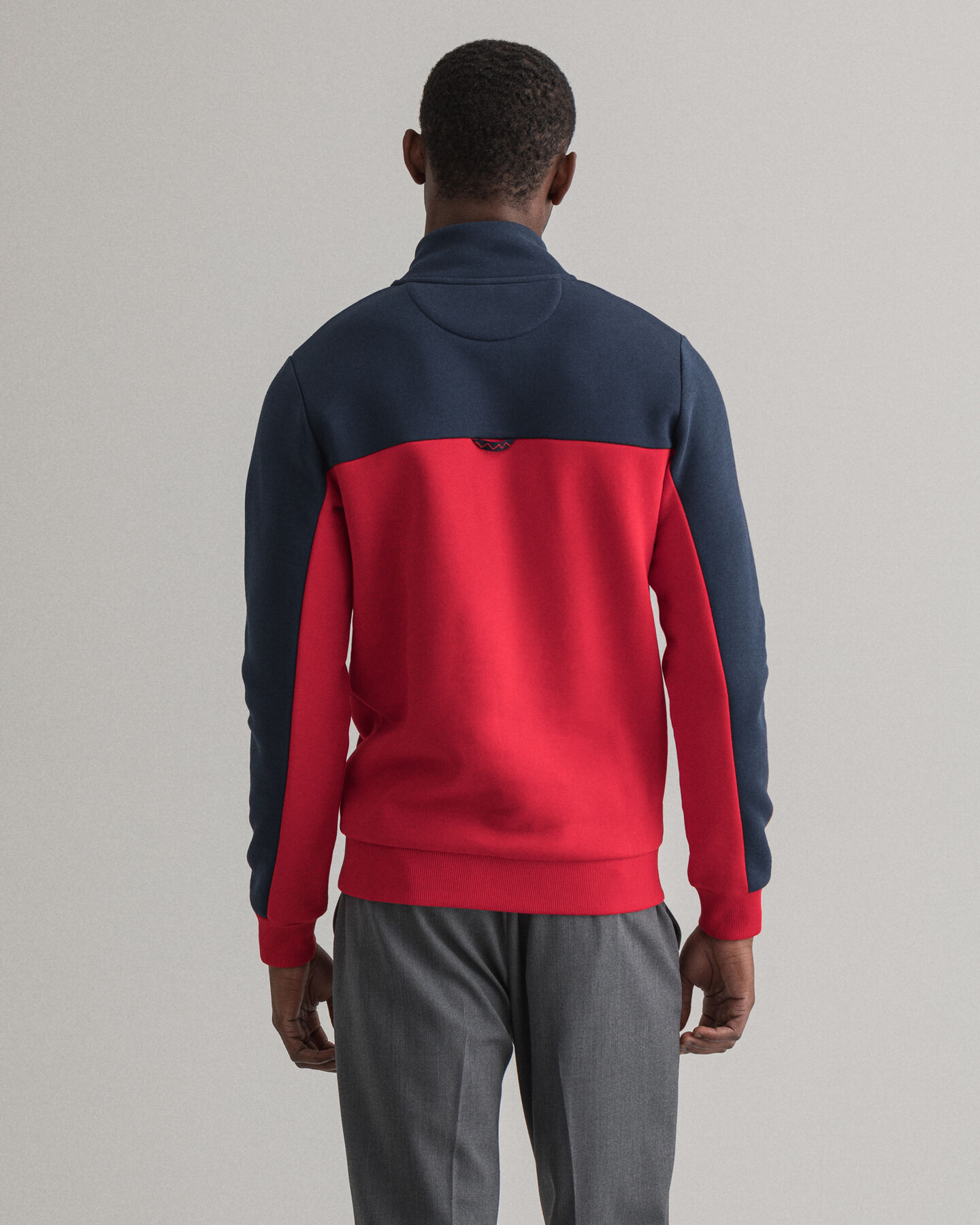 Nautical Sweatshirt mit Reißverschluss