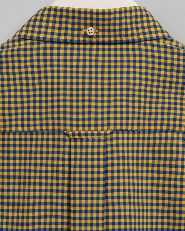 Regular Fit Broadcloth Hemd mit Vichy-Karo in 2Farben