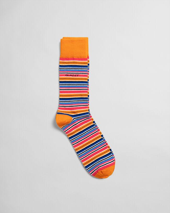 Bunt gestreifte Socken