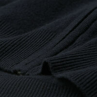 Strickjacke aus Super Fine Lambswool mit Reißverschluss