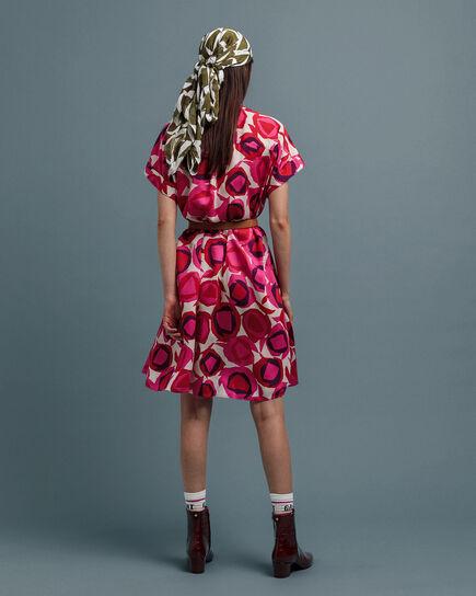 Fluid Desert Flower Kleid