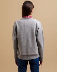 Sweatshirt mit mehrfarbiger Grafik