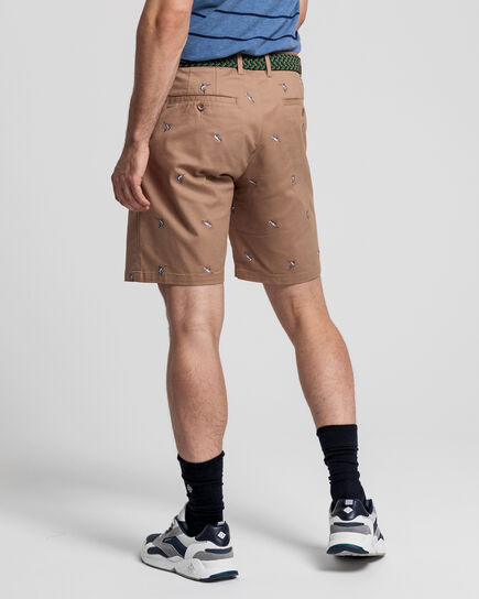 Tech Prep™ Regular Fit Shorts mit Stickerei
