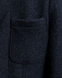 Slim Fit Boiled Wool Sakko