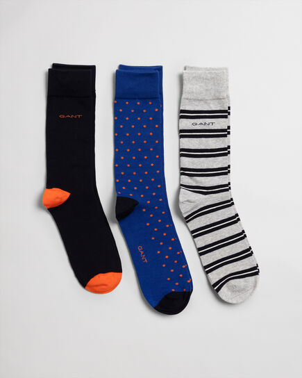 3er-Pack Mix-Socken mit Geschenkbox