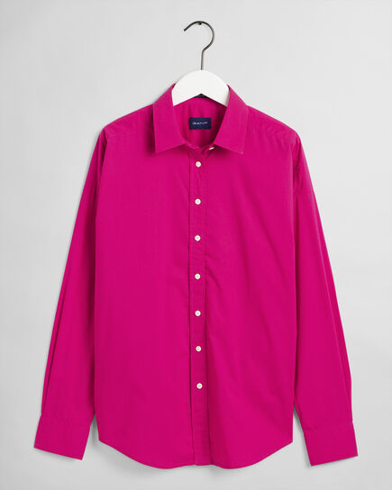 Tech Prep™ Oversize Broadcloth Bluse