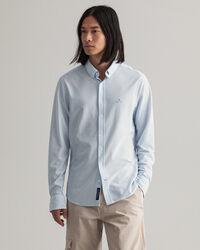 Tech Prep™ Slim Fit Piqué Hemd mit Streifen
