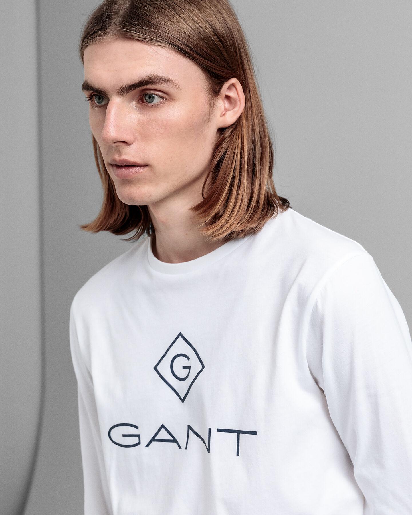 Logo Langarm-T-Shirt