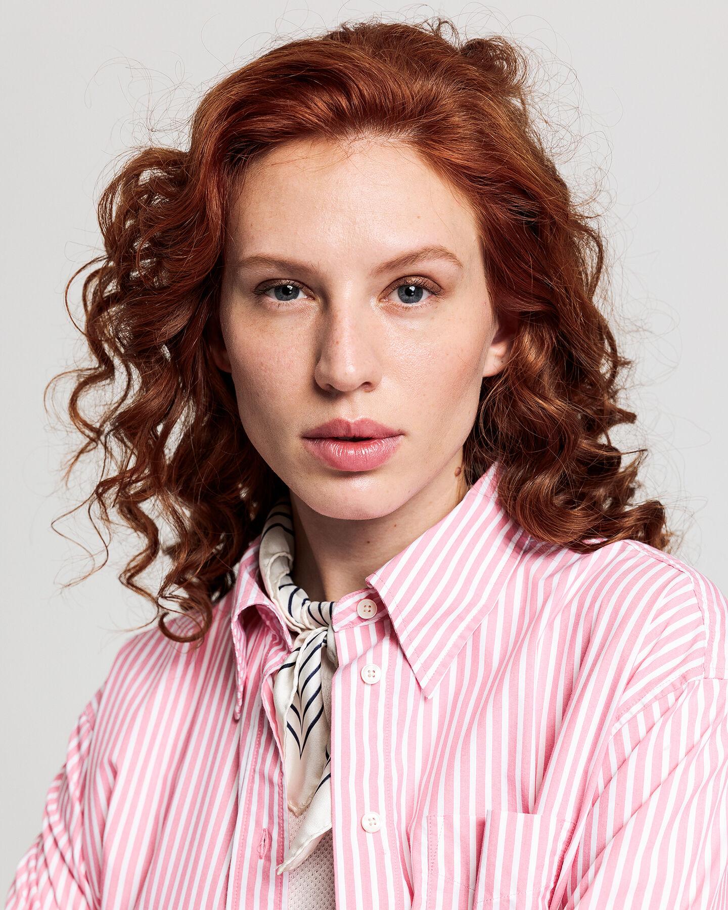 Business Ex-Boyfriend Tech Prep™ Striped Bluse