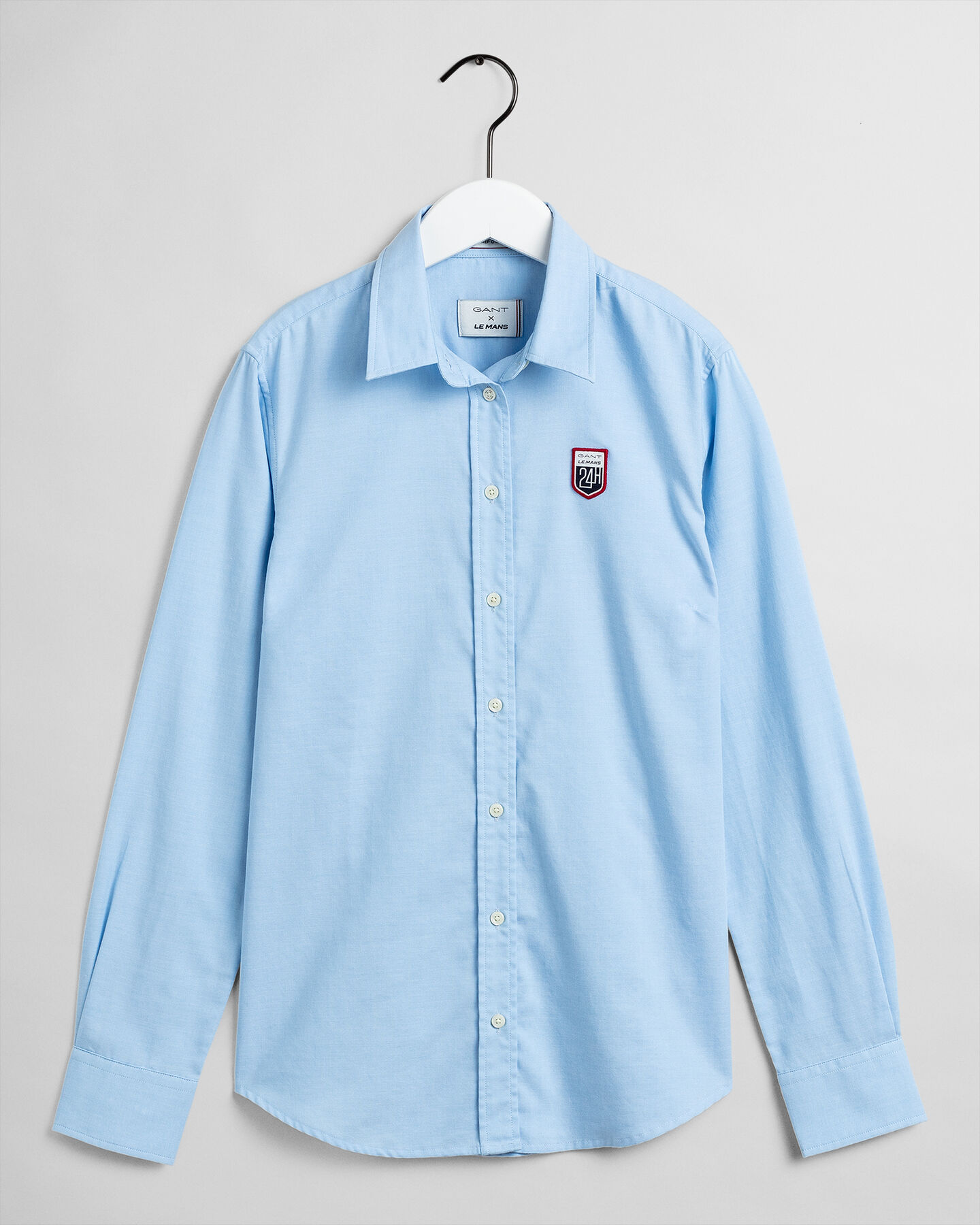 Tech Prep™ Le Mans Oxford-Bluse