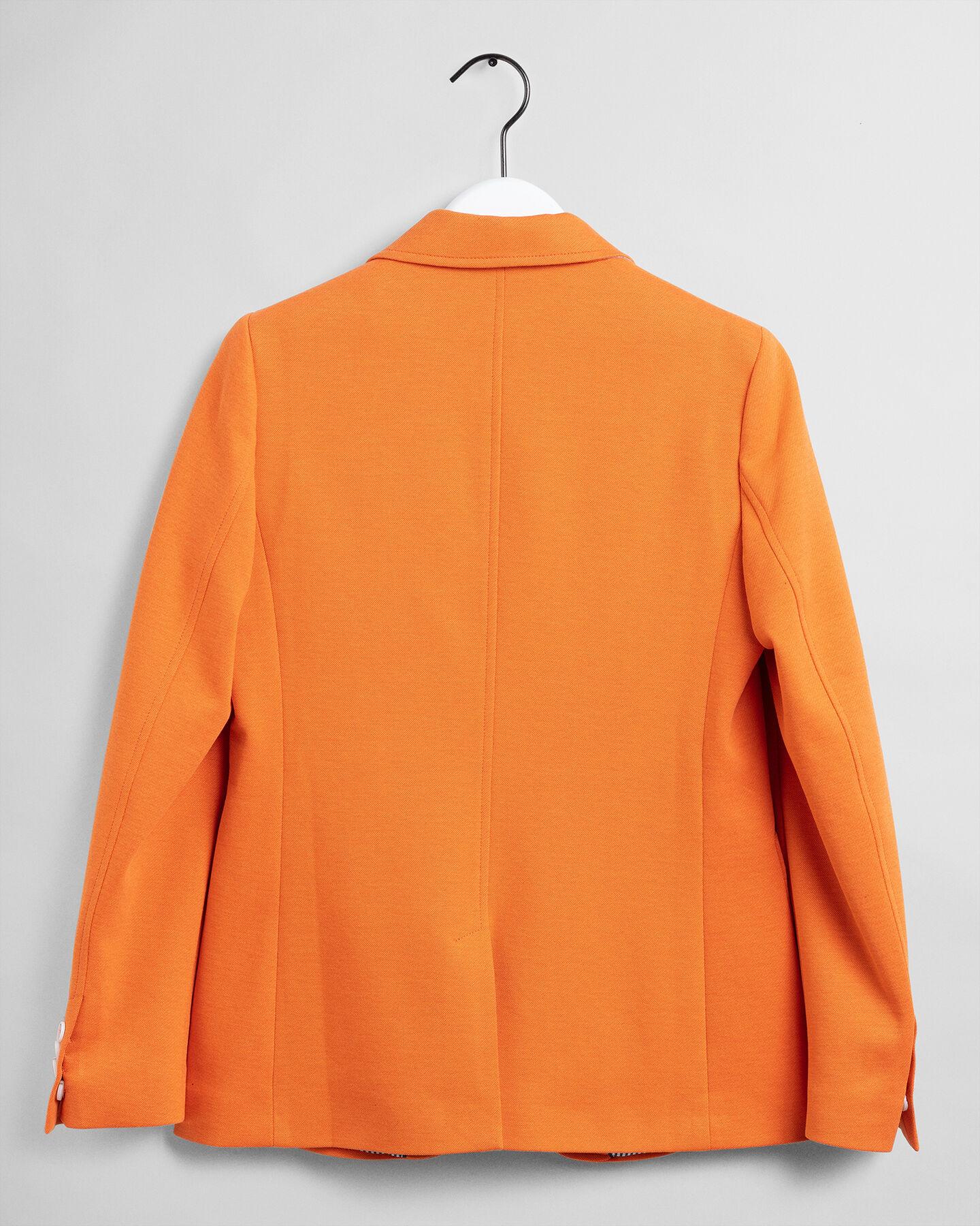 Melierter Regular Fit Jersey Blazer
