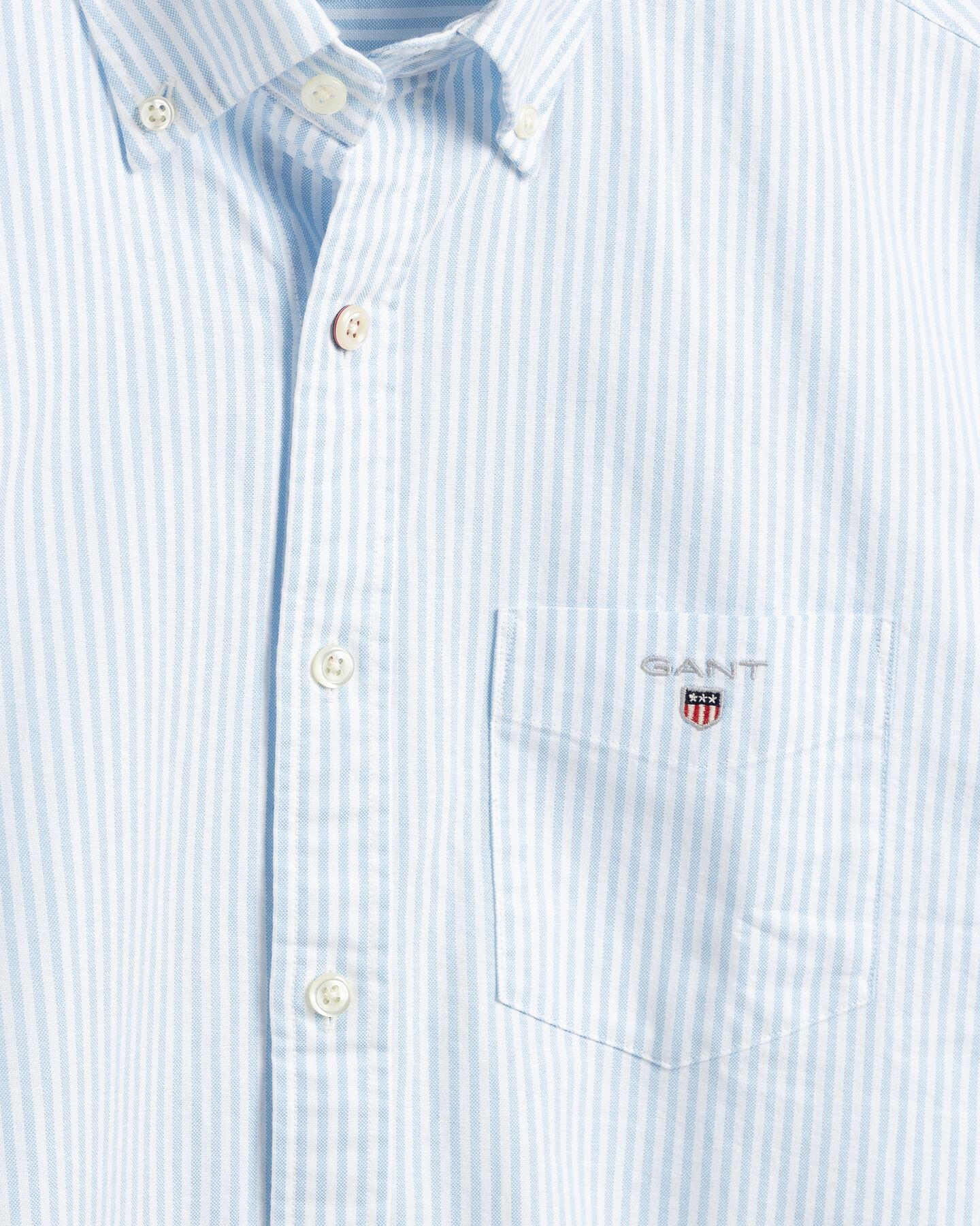 Regular Fit Banker Oxford-Hemd