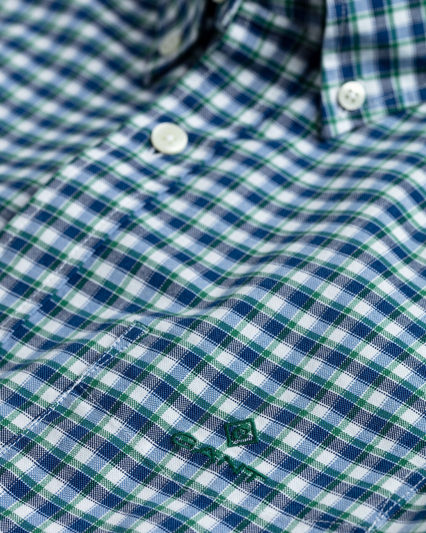Preppy Regular Fit Oxford-Hemd mit Karomuster