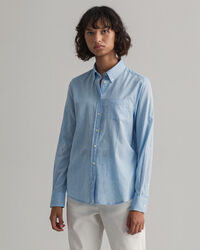 Air Oxford Regular Fit Bluse