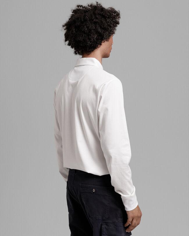 Jersey Rugger aus mercerisierter Baumwolle