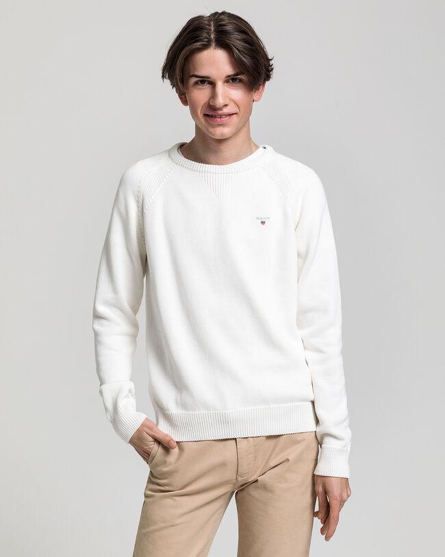 Teen Boys Casual Baumwoll Rundhalspullover